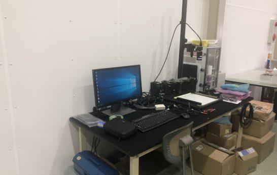 テストセンターの画像検査装置