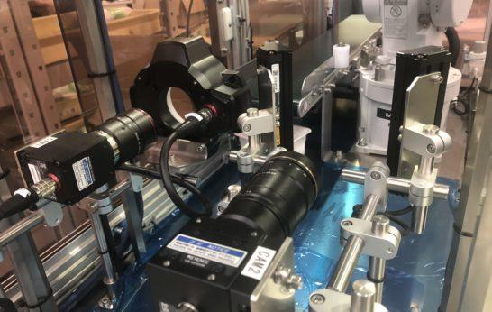 ロボットと画像処理ユニットの組み合わせ